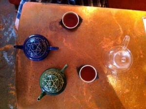 Three Pots of Ayurvedic T