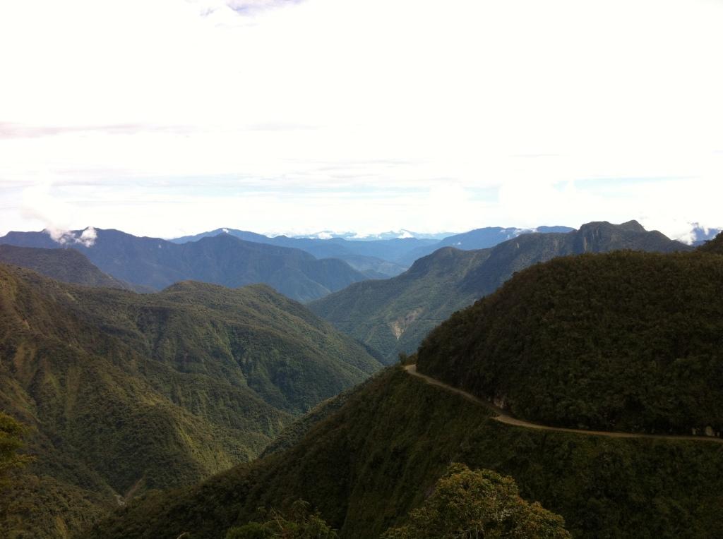 12-4-12 potluck last night in cusco, bolivia, death road 221