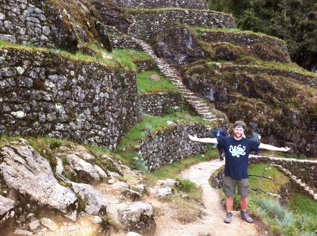 Machu Picchu and passport finding party rum!! 11-11-12 123
