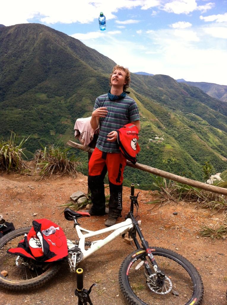 12-4-12 potluck last night in cusco, bolivia, death road 273