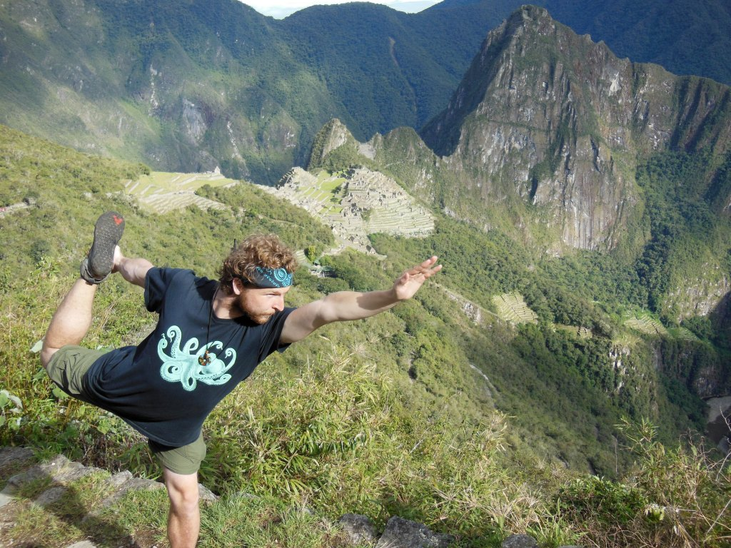 This is how much I missed yoga while I was in Peru